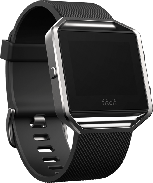 FITBIT BLAZE SMART FITNESS WATCH - BLACK SILVER (S)1
